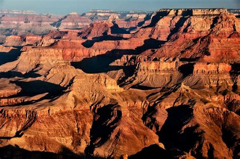 the grand displays layer upon layer of sedimentary