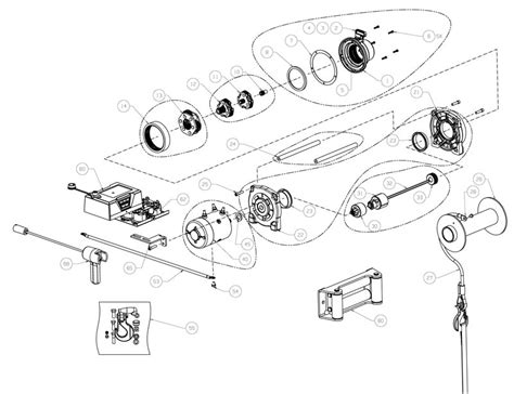 warn 16 5ti wiring diagram warn 9 5xp wiring diagram
