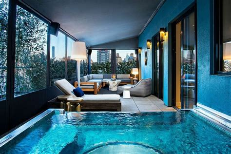nyc hotel with balcony terrace suite the benjamin hotel rooms new york city the dream hotel new york