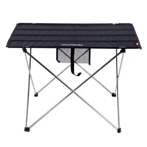 large folding table aluminum ultralight folding table large naturehike