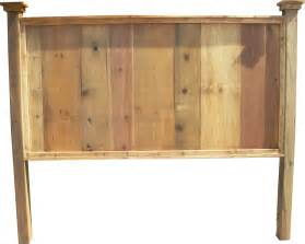 King Size Wood Headboard King Size Headboard Casual Cottage