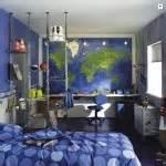 deco chambre ado garcon bleu gris