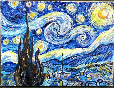Starry Nights starry starry painting www imgkid the image