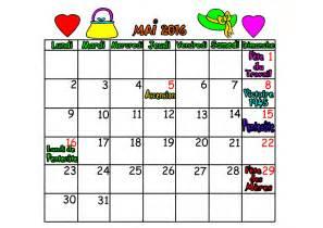 calendrier 2016 mois de mai juin juillet ao 219 t
