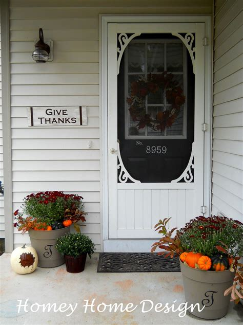 home front decor ideas small front porch decorating ideas for fall best home design 2018
