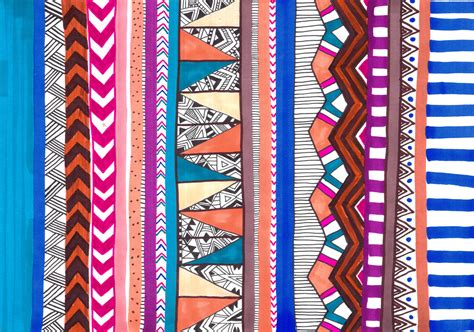tribal pattern words print and pattern art and design vasare nar art fashion