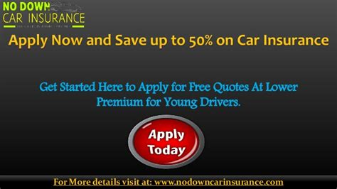 Insurance Quotes Drivers by No Deposit Car Insurance Quotes Buy Auto Insurance With