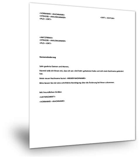 Antrag Brief Muster Musterbrief Namens 228 Nderung Musterix