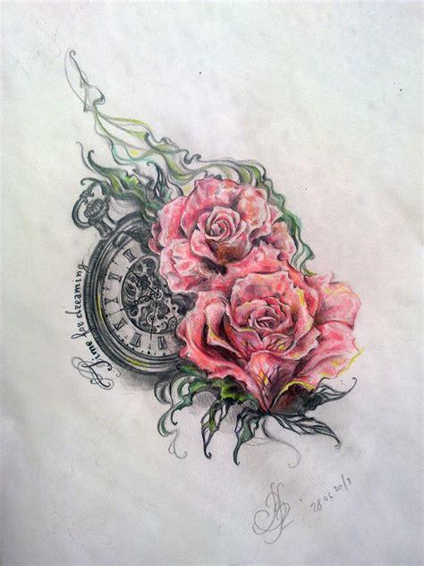 klok horloge tattoo en de betekenis