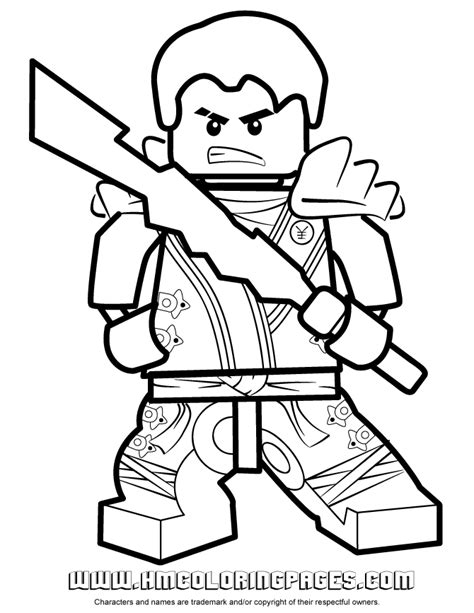 free go ninjago jay coloring pages