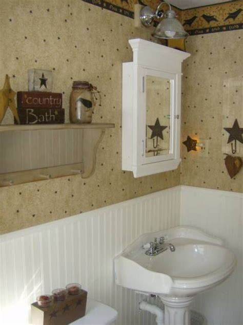 primitive bathrooms primitive bathroom decor primitive bath decor