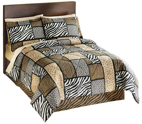 Zanzibar Bedding Set Zanzibar Safari Patchwork Comforter Set By Collections Etc Ebay