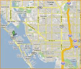 johns pass florida map johns pass 727 363 1881 parasailing madeira