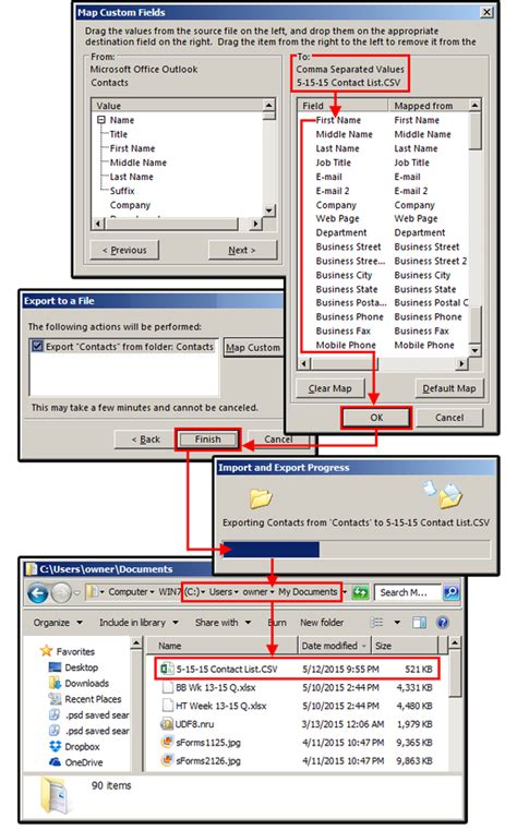 contacts csv format template import contacts from excel to outlook 3 0 free