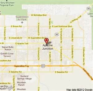 map of apache junction arizona map to los gringos locos mexican grill cantina in apache