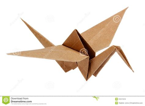 Ancient Japanese Origami - traditional japanese origami crane stock photography