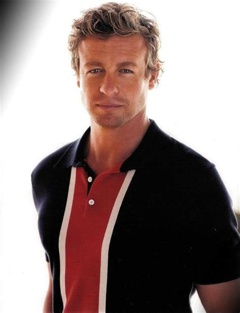 blond hair actor in the mentalist simon baker images simon wallpaper and background photos