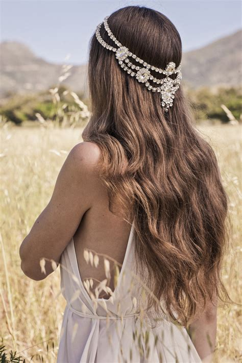 Boho Hairstyles Accessories by Boho Bridal Hair Accessories From Bo Luca Southbound