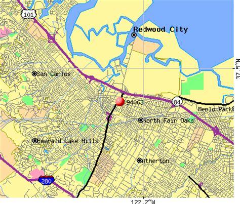map of redwood city california 94063 zip code redwood city california profile homes