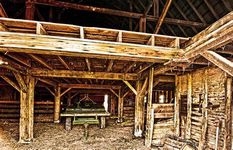 barn interior barn interior photograph by randall branham