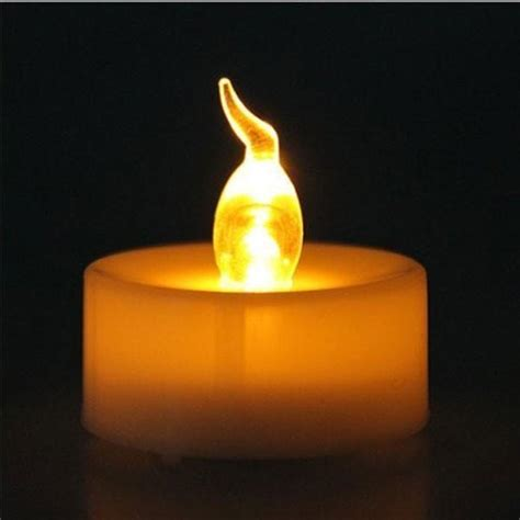 small electric candle lights 24pcs small plastic wholesale flameless candle with timer