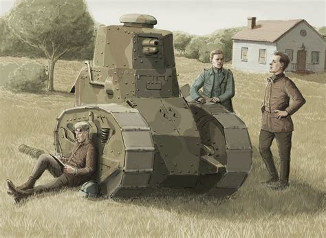 renault f1 tank renault ft17 by jesusfood on deviantart