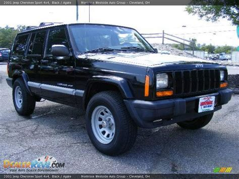 Jeep Sport Black 2001 Jeep Sport 4x4 Black Agate Photo 7