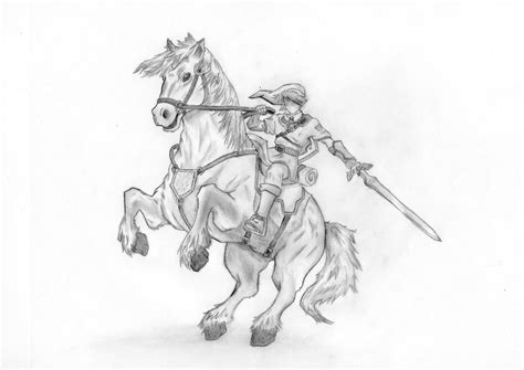 link page7 legend of link and epona by xbunnybunz on deviantart