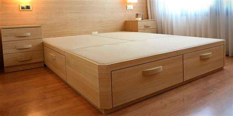 canape de madera  cajones muebles  idea