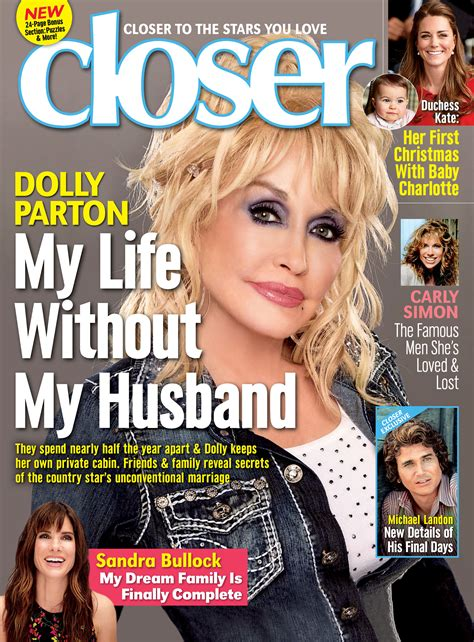 Dolly Magazine Reveals Much by Dolly Parton Reveals The Secret To Unconventional