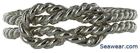 Square Knot Sinnet - nautical knots jewelry