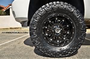 315 Tires For 18 Inch Rims Chevrolet Silverado 2500hd Custom Wheels Xd Hoss 18x Et