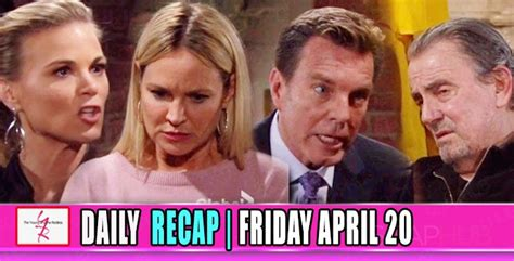 yr recap one night the young and the restless recaps the young and the restless yr recap jack threatens