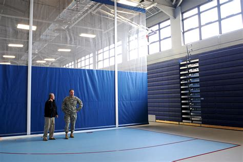 anderson field house anderson field house reopens showcasing renovations improvements gt joint base
