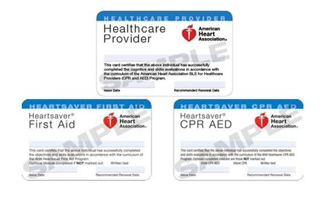 aha healthcare provider cpr card template photo gallery