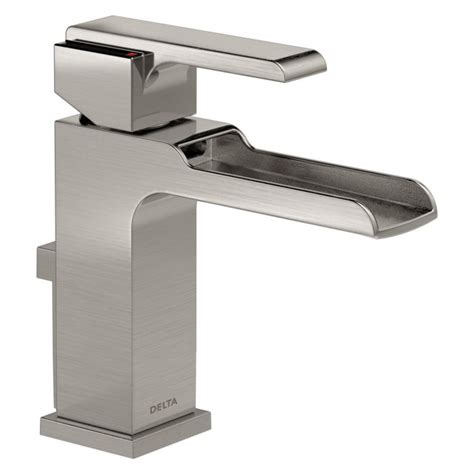 Delta Faucet Ara by 568lf Ssmpu Delta Ara Series With Channel Spout Stainless