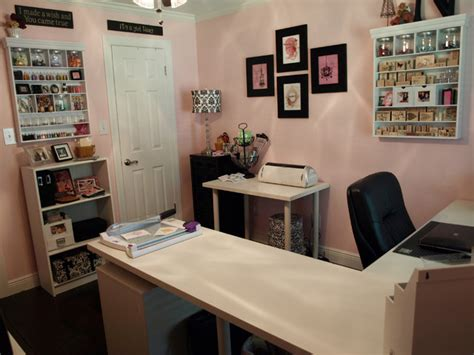 craft office room ideas nancy s craft studio traditional home office houston