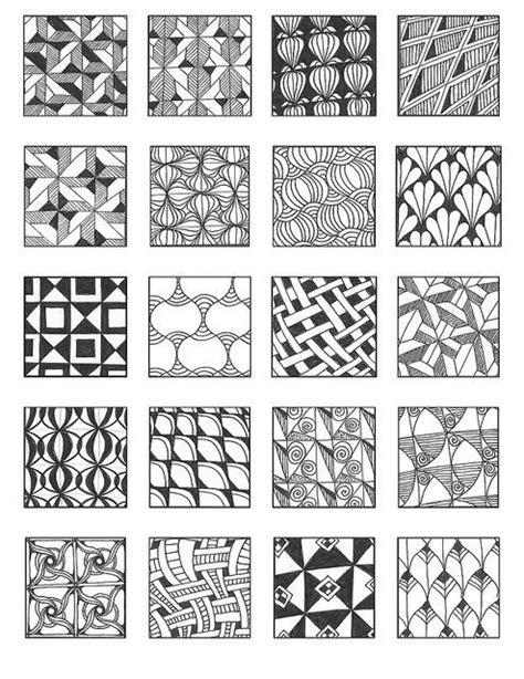 doodle pattern artists zentangle patterns grid 9 flickr photo sharing