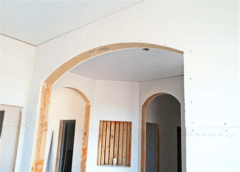 Drywall Cathedral Ceiling by Arches And Ceilings Made Easy Pictures To Pin On Pinterest