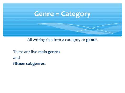 biography genre powerpoint genre summary ppt