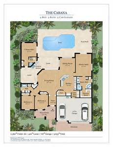 Home Floor Plans Florida The Cabana