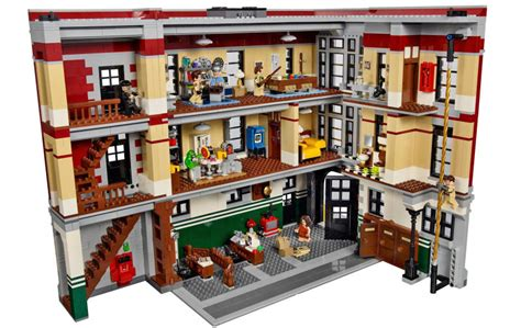 How To Make A Toaster Cover Our First Look Inside The Lego Ghostbusters Firehouse Hq