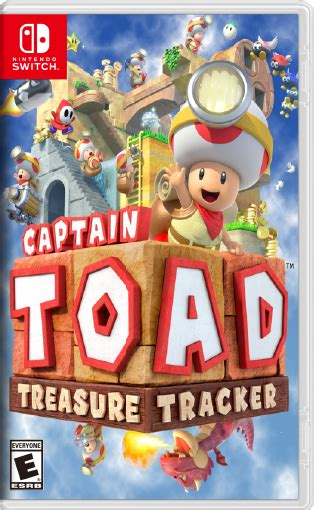 Treasures Switched captain toad treasure tracker for nintendo switch