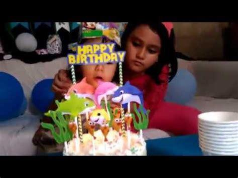 Kue Ulang Tahun Baby Shark kue ulang tahun baby shark carla carla s baby shark birthday cake