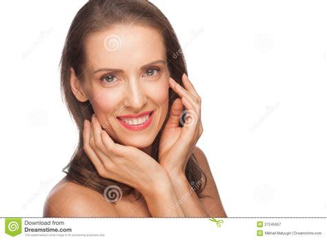 attractive middle aged women dark hair attractive middle aged woman stock image image of girl
