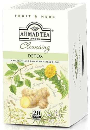 Heavenly Herbs Detox ahmad cleansing detox tea 20 foil tea bags where to buy
