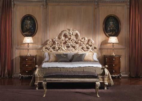 letti in stile barocco letto in stile barocco per camere di lusso in legno
