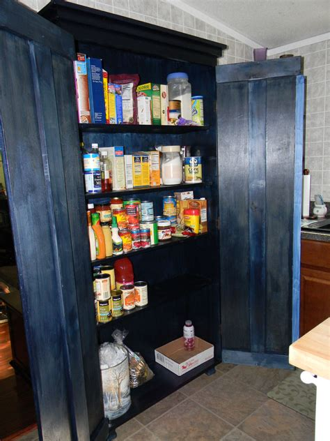 armoire pantry cabinet ana white simplest armoire as kitchen pantry diy projects