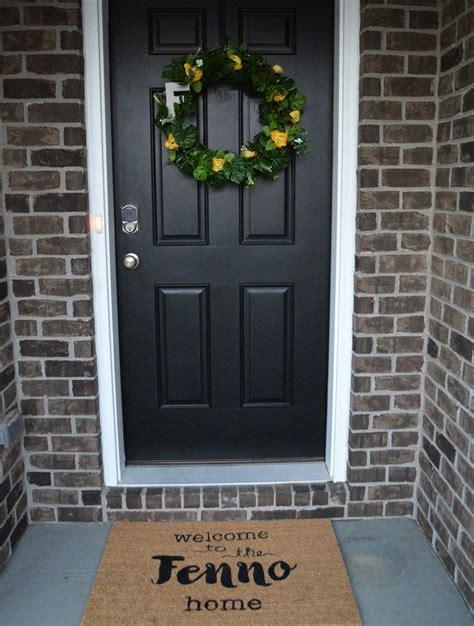 diy personalized door mat personalized