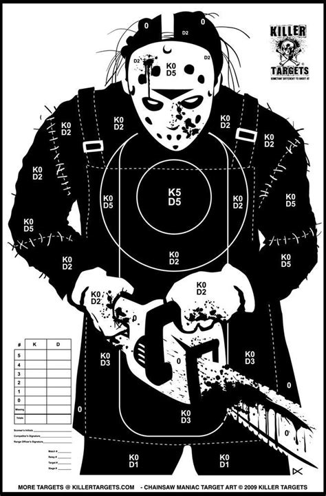 free printable zombie gun targets a crip with a gun zomg zombie targets